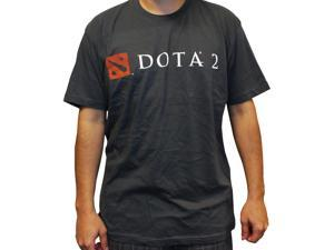 DOTA 2 Logo Men's Grey T-Shirt: Large