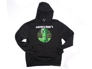 Minecraft Retro Creeper Premium Adult Hoodie XXX-Large