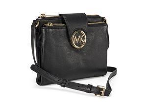 Michael Kors Fulton Large Crossbody Handbag - Black
