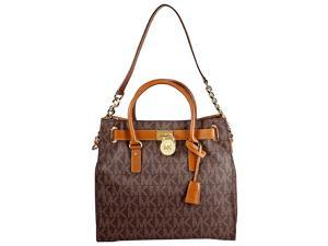 Michael Kors Hamilton Large Logo Tote - Brown