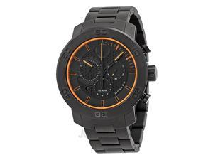 Movado Bold Chronograph Black Dial Black Ion-plated Titanium Mens Watch 3600190