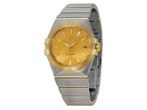 Omega Constellation Champagne Dial Steel & Yellow Gold Watch 12320356008001