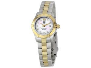 Tag Heuer Aquaracer Diamond Two-Tone Ladies Watch WAF1425.BB0825