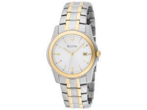 Bulova Bracelet Two-tone Mens Watch 98H18