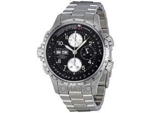 Hamiton Khaki X Wind Black Dial Stainless Steel Watch H77616133