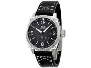 Oris BC4 Retrograde Day Black Dial Automatic Mens Watch 735-7617-4164LS