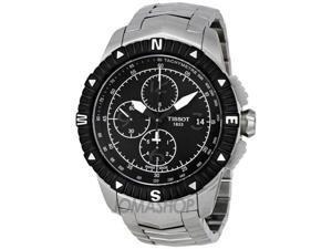 Tissot T-Navigator Chronograph Black Dial Mens Watch T0624271105700