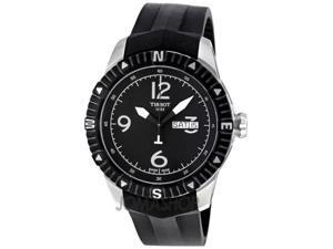 Tissot T-Navigator Automatic Black Dial Steel Mens Watch T0624301705700