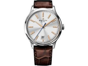 Zenith Captain Central Second Silver Dial Automatic Mens Watch 03202067001C498