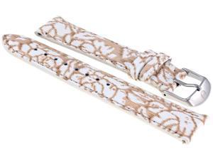 Michele Floral Fashion Patent 18 mm Strap MS18AA350976