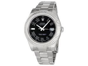 Rolex Datejust II White Dial Stainless Steel Automatic Mens Watch 116300WSO