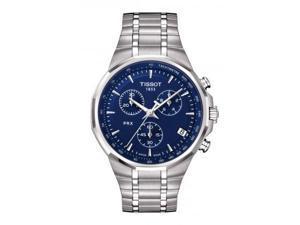 Tissot PRX Classic Chronograph Blue Dial Mens Watch T0774171104100