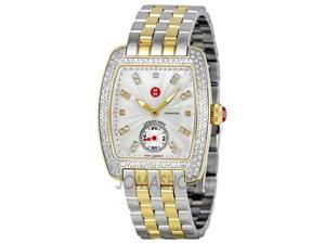 Michele Urban Mini Diamond Bezel Ladies Watch MWW02A000558