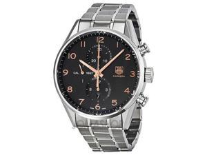 Tag Heuer Carrera Calibre 1887 Chrono Black Dial Mens Watch CAR2014.BA0796