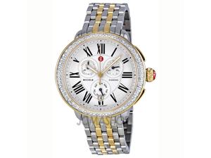 Michele Serein Two-tone Steel Watch MWW21A000008