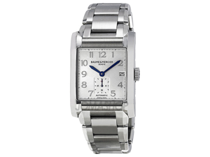 Baume and Mercier Hampton Silver Dial Automatic Mens Watch 10047
