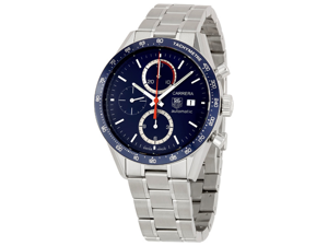 Tag Heuer Carrera Automatic Chronograph Tachymeter Watch CV2015.BA0794