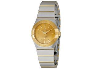 Omega Constellation Champagne Dial Ladies Watch 12320276008001