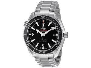 Omega James Bond Seamaster Plant Ocean Black Dial Steel Watch