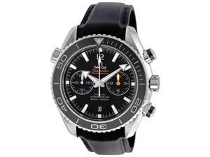 Omega Seamaster Planet Ocean Chrono Black Dial Rubber Watch 232.32.46.51.01.003