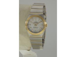 Omega Constellation Pearl Steel and 18kt Yellow Gold Ladies Watch 12320276005002