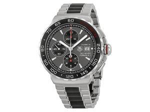 Tag Heuer Formula 1 Anthracite Dial Steel & Ceramic Chrono Watch CAU2011.BA0873