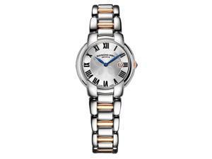Raymond Weil Jasmine Silver Dial Two Tone Steel Ladies Watch 5229-S5-01659