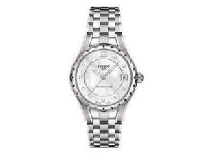 Tissot T-Lady Powermatic 80 Pearl Dial Steel Ladies Watch T0722071111600
