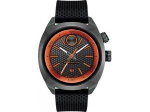 Movado 3600212 Bold Black Dial Black Silicone Men's Watch