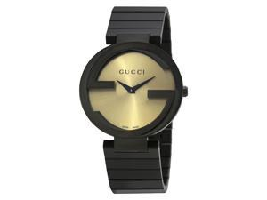 Gucci Interlocking Special Grammy Bracelet Ladies Watch YA133314