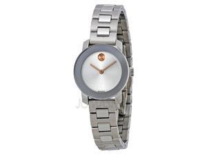 Movado Bold 3600234 Silver Diakl Stainless Steel Ladies Watch