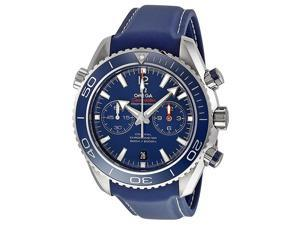 Omega Seamaster Planet Ocean Chronograph Blue Dial Mens Watch 23290465103001