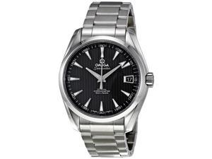 Omega Aqua Terra Black Dial Automatic Stainless Steel Mens Watch 231.10.39.21.01