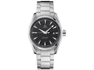 Omega Seamaster Aqua Terra Grey Dial Steel Mens Watch 231.10.39.60.06.001