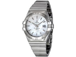 Omega Constellation White Pearl Dial Steel Ladies Watch 123.10.31.20.05.001