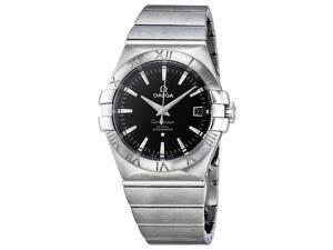 Omega Constellation Chronometer Black Dial Steel Ladies Watch 12310352001001