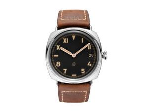 Panerai Radiomir California 3 Days Black Dial Light Brown Leather Watch PAM00424