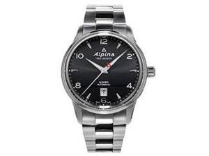 Alpina Alpiner Automatic Black Dial Stainless Steel Mens Watch AL-525B4E6B