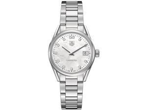 TAG Heuer Carrera Mother of Pearl Dial Steel Ladies Watch WAR1314BA0773