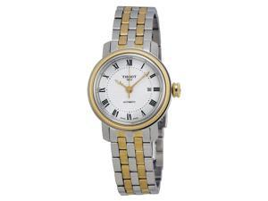 Tissot Bridgeport Lady Silver Dial Two-tone Ladies Watch T0970072203300