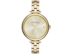 Marc by Marc Jacobs MBM3363 Sally Champagne Dial Gold-tone Ladies' Watch