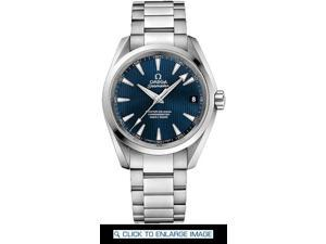 Omega Aqua Terra Blue Dial Stainless Steel Mens Watch 23110392103002