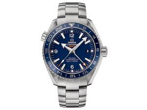 Omega Planet Ocean GMT Automatic Blue Dial Titanium Mens Watch 23290442203001