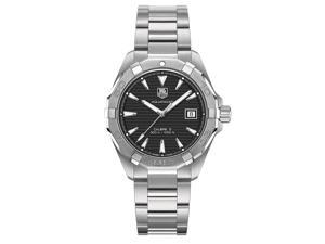 Tag Heuer Aquaracer Automatic Black Dial Steel Mens Watch WAY2110.BA0910