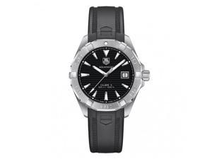 Tag Heuer Aquaracer Automatic Black Dial Steel Mens Watch WAY2110.FT8021