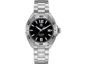 Tag Heuer Formula 1 Automatic Black Dial Steel Mens Watch WAZ2113BA0875