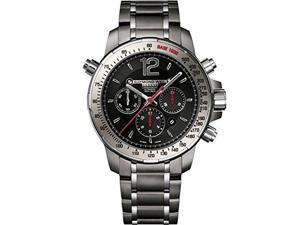 Raymond Weil Nabucco Chronograph Black Dial Steel Mens Watch 7850-TI-05207
