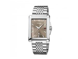 Gucci G-Timeless Brown Dial Stainless Steel Ladies Watch YA138402