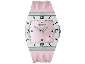 Kenneth Cole Women's Pink Polyurethane Strap watch #KC2465