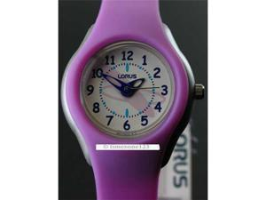Children Kids Lorus Sporty Orchid Resin New Watch G251